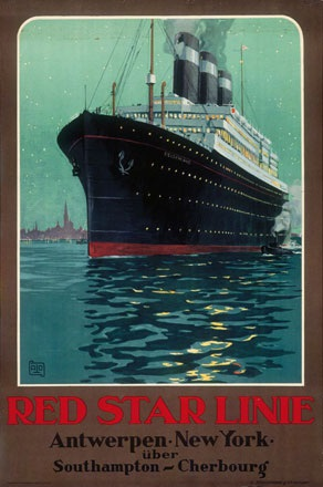 Monogramm Cato - Red Star Line