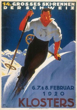 Moos Carl - 14. Grosses Ski-Rennen der Schweiz