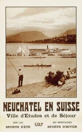 Sauser E. (Photo) - Neuchâtel en Suisse