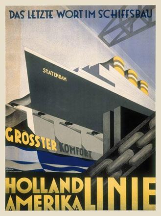 van't Hoff Adriaan Johannes - Holland-Amerika Linie