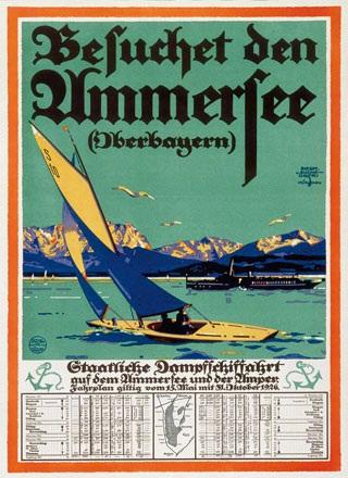 von Suchodolski Sigmund - Besucht den Ammersee