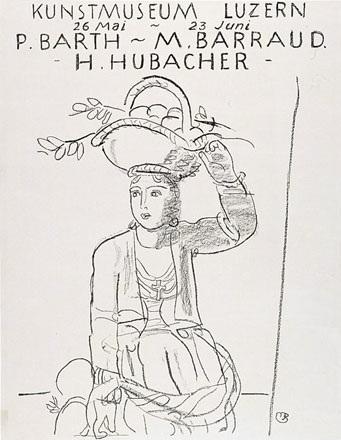 Barraud Maurice - Paul Barth / Maurice Barraud / Hermann Hubacher