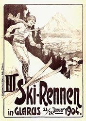 Anonym - III. Ski-Rennen Glarus