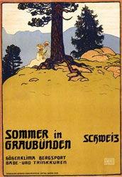 Cardinaux Emil - Sommer in Graubünden
