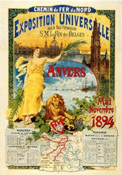 Fraipont Gustave - Exposition Universelle Anvers