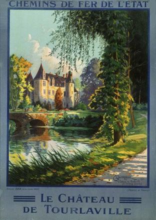 Couronneau E. - Le Château de Tourlaville