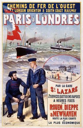 Fraipont Gustave - Paris à Londres