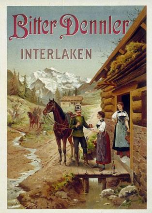 Anonym - Bitter Dennler, Interlaken