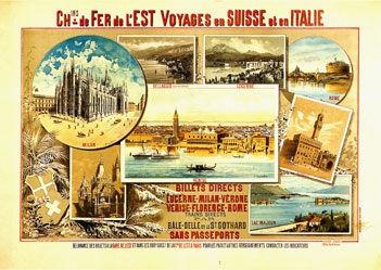 d'Alesi Hugo - Voyages en Suisse et en Italie -