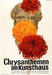 Baumberger Otto - Chrysanthemen im Kunsthaus