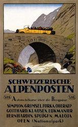 Cardinaux Emil - Schweizerische Alpenposten