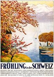 Cardinaux Emil - Frühling in der Schweiz