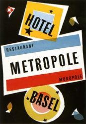 Fendt Max - Hotel Metropole Basel