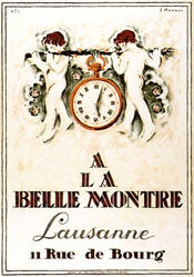 Mennet Jean Jacques - Belle Montre Lausanne