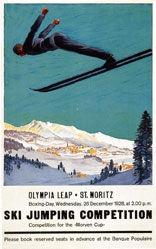Moos Carl - St. Moritz - Olympia leap