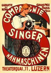 Anonym - Compagnie Singer Nähmaschinen