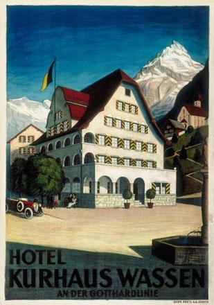 Anonym - Hotel Kurhaus Wassen