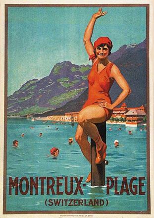 Anonym - Strandbad Montreux