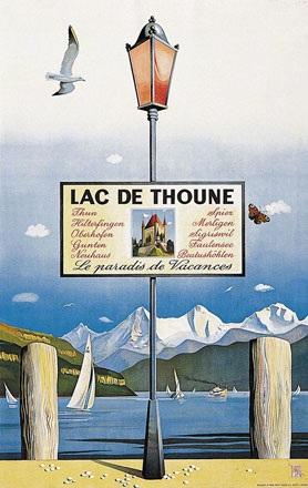 Gerbig Richard - Lac de Thoune