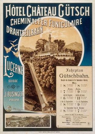 Anonym - Hôtel Château Gütsch Lucerne