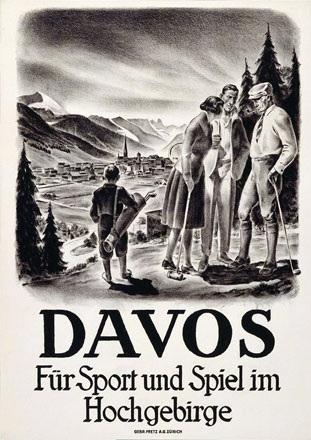Moos Carl - Davos - Für Sport und Spiel im Hochgebirge