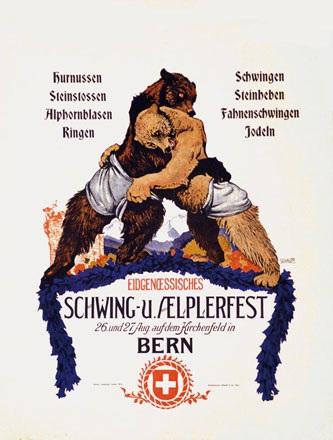 Schaupp Richard - Eidgenössischer Schwing- und Aelplerfest