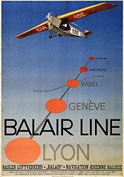 Stoecklin Niklaus - Balair Line Lyon