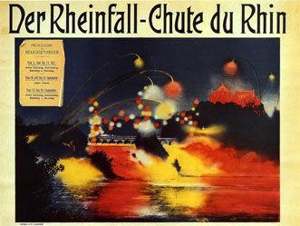 Anonym - Der Rheinfall - Chute du Rhin