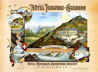 Anonym - Hôtel Jungfrau à Eggishorn