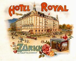 Anonym - Hotel Royal Zürich