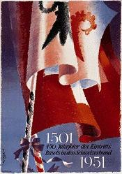 Bühler Fritz - 450 Jahrfeier des Eintritts Basels