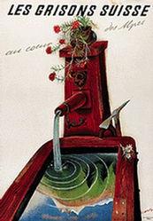 Carigiet Alois - Les Grisons Suisse