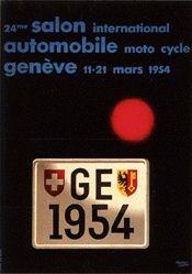 Leupin Herbert - Salon automobile Genève