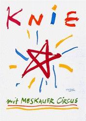 Leupin Herbert - Circus Knie mit Moskauer Circus