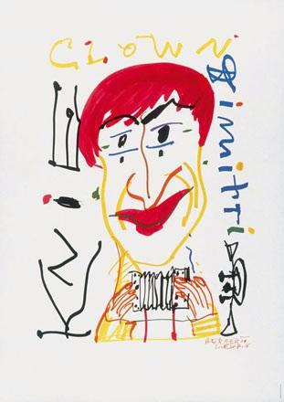 Leupin Herbert - Circus Knie Clown Dimitri