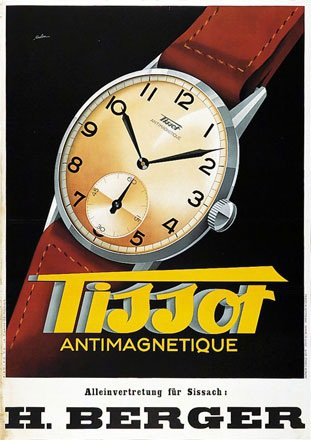 de Coulon Eric - Tissot Antimagnetique