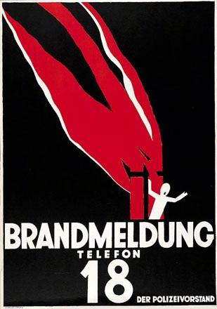 Baumberger Otto - Brandmeldung Telefon 18