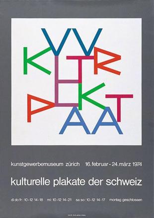 Bill Max - Kulturelle Plakate