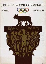 Testa Armando - Jeux de la XVII Olympiade