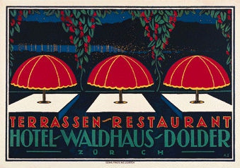 Schawinsky Xanti - Hotel Waldhaus Dolder