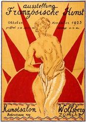 Clairin Pierre Eugène - Ausstellung Französische Kunst