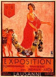 de Saussure Horace - Exposition Nationale Suisse des Beaux-Arts