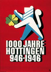 Diggelmann Alex Walter - 1000 Jahre Hottingen