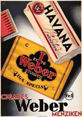 Kuhn Charles - Cigares Weber