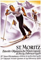 Moos Carl - Zweite Olympische Winterspiele