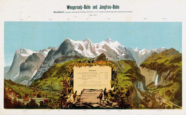 Anonym - Wengernalp-Bahn und Jungfrau-Bahn