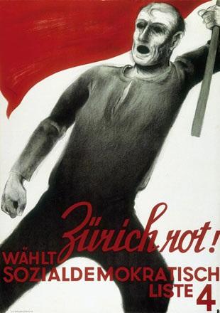Baumberger Otto - Zürich rot !