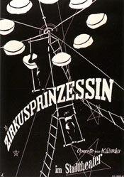 Monogramm C.L. - Zirkusprinzessin