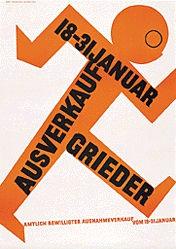 Brunner Propaganda - Grieder Ausverkauf