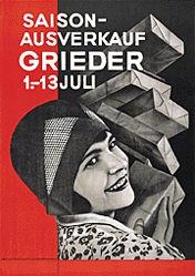Brunner Propaganda - Grieder Saison-Ausverkauf